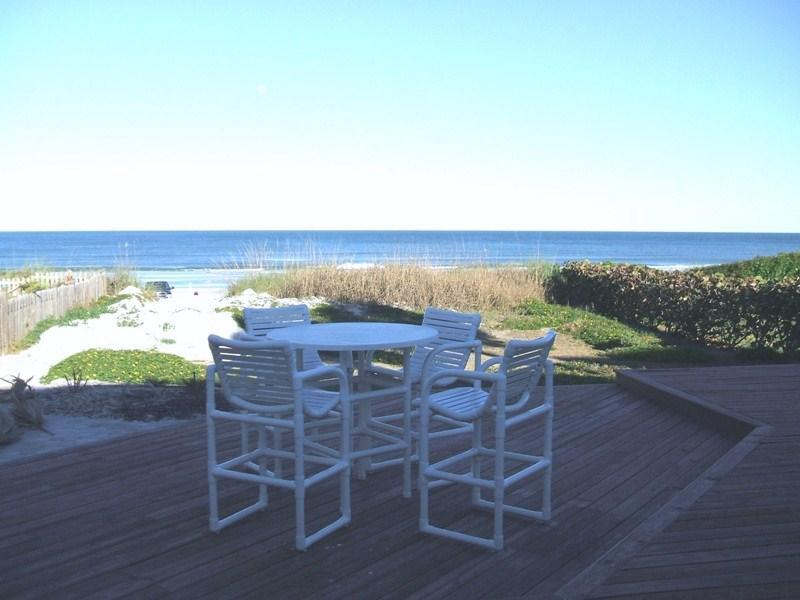 50 steps to the beach - Oceanfront Cottage 50 Steps Onto Beach Pets OK - New Smyrna Beach - rentals