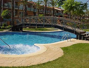 One of the pools of the Port Marino complex - Modern apartment in fabulous complex with pools. - Salou - rentals