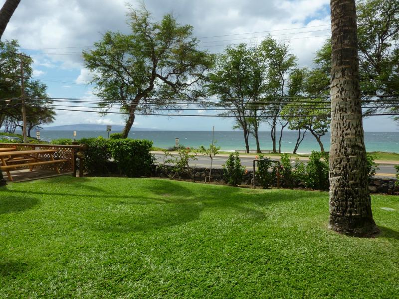 View from the lanai - Full Ocean View from your Kihei, Maui, Condo - Kihei - rentals