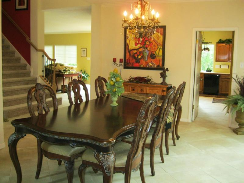 Formal Dining Room - One of Three Dining Areas - Beautiful, Minutes from Downtown, Sleeps 14, 3200 SF - Austin - rentals