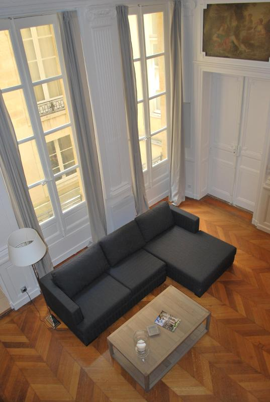living room - Beautiful apartment 18th  in the heart of Bordeaux - Bordeaux - rentals