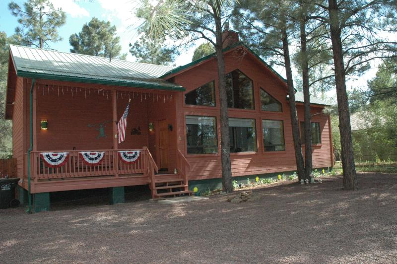 Cozy modern cabin in Pinetop's Az - horses allowed - Image 1 - Pinetop - rentals