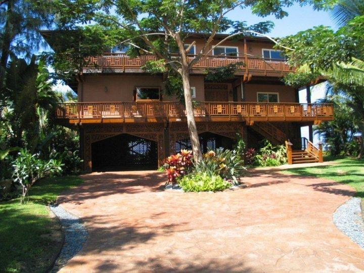 This Villa is 1800.00 per night - Maui Villa 5.5 bedrooms on the beach/4 master - Kahana - rentals