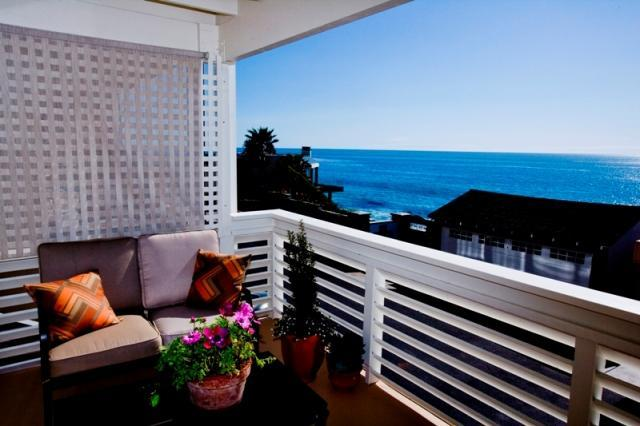 Southward view from balcony - Laguna beach house- location, beach, views! - Laguna Beach - rentals
