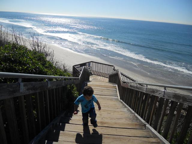 Stairway to the beach (our 2 year old son) - Walk to beach, 4Bdr + Playroom! - Carlsbad - rentals