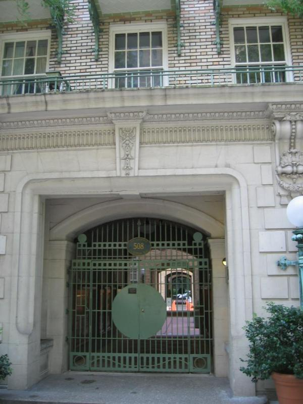 front gate - Upper East  Side - clean and quiet - 78th street - Manhattan - rentals
