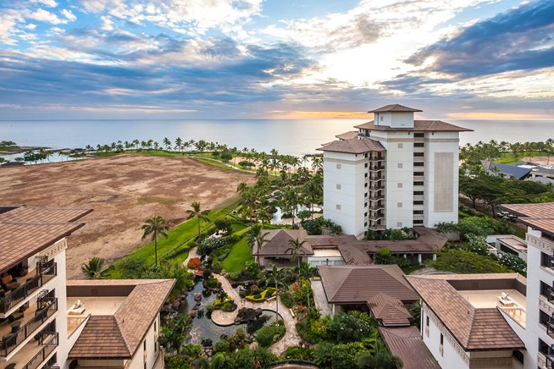 Spectacular View from the Lanai - Ko Olina Beach Villa OT1404 Penthouse Full Ocean - Ko Olina Beach - rentals