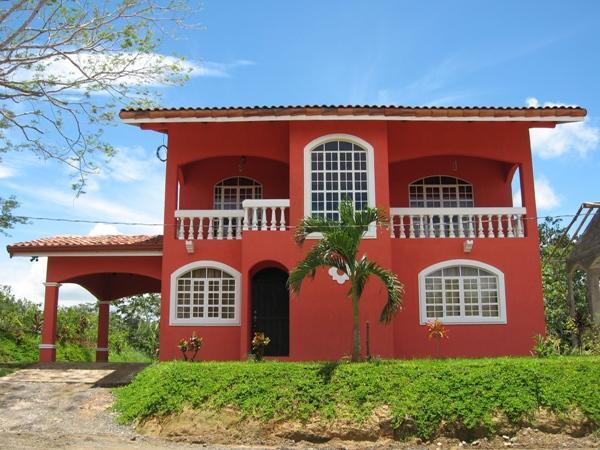 Front of House - Vacation House Costa Rica - Beach Vacation Rental - Esterillos Oeste - rentals