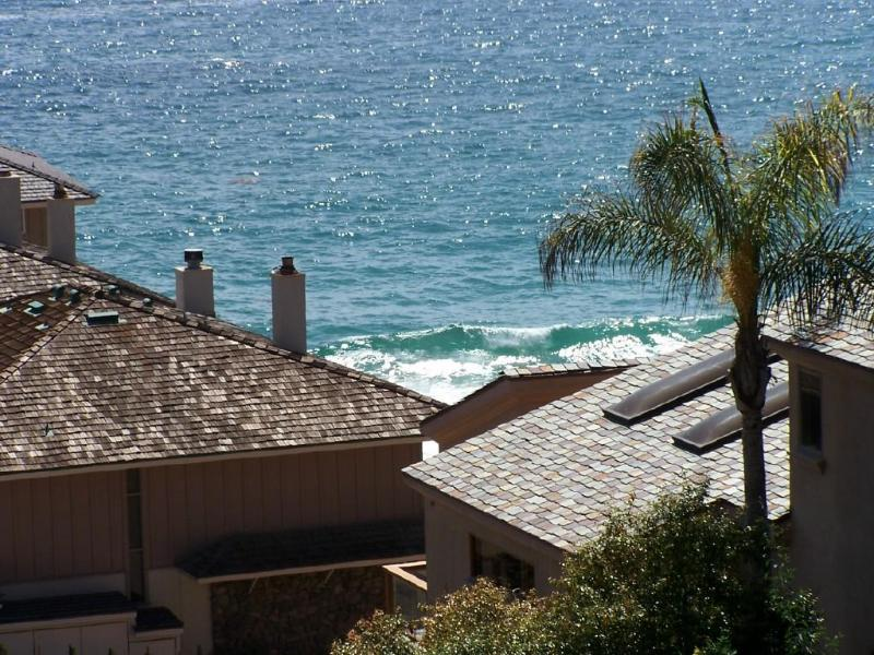 View From Our 2nd Level Deck - Blue Lagoon Luxury Beach Cottage Lower Rates -2014 - Laguna Beach - rentals