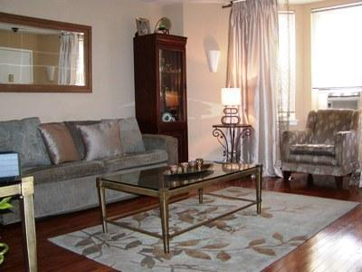 LIVING ROOM - Vacation Rental By The Barclays Center - Brooklyn - rentals