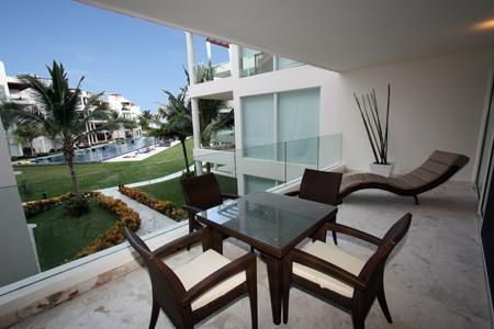 Private Pool View Patio with Outdoor Dining Set - Elements_108 - Playa del Carmen - rentals