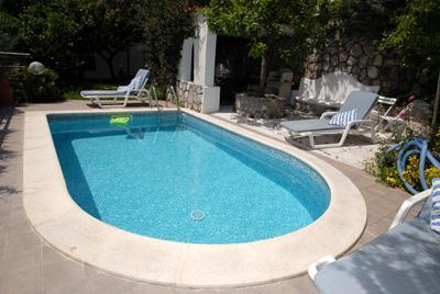 swimming pool - PRIVATE SWIMMING POOL AND SEA VIEW - Nerano - rentals
