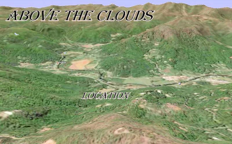 Aerial Photogrpah w/ Location - ABOVE THE CLOUDS - Over 4,000Sq.Ft. Living Space - Franklin - rentals