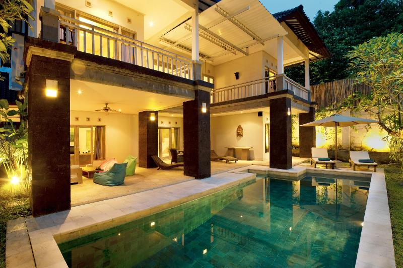 Patio and Pool - Bali Villa C1 - An oasis in the heart of Seminyak - Seminyak - rentals