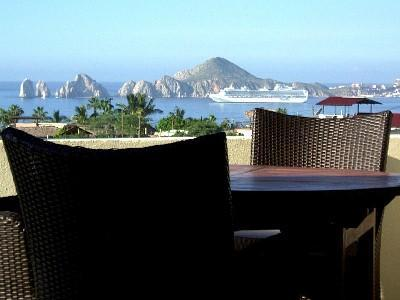 Terrace View amazing! - Affordable Luxury--Stunning Ocean Views, El Arco! - Cabo San Lucas - rentals