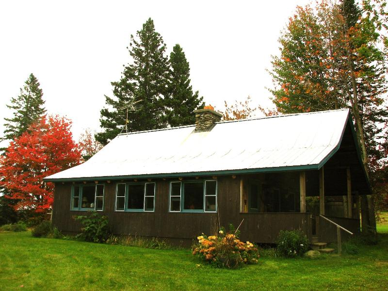 Larkspur Log Cabin - Pet-Friendly Vermont Cabin Rentals, Eden Mountain Lodge - Eden Mills - rentals