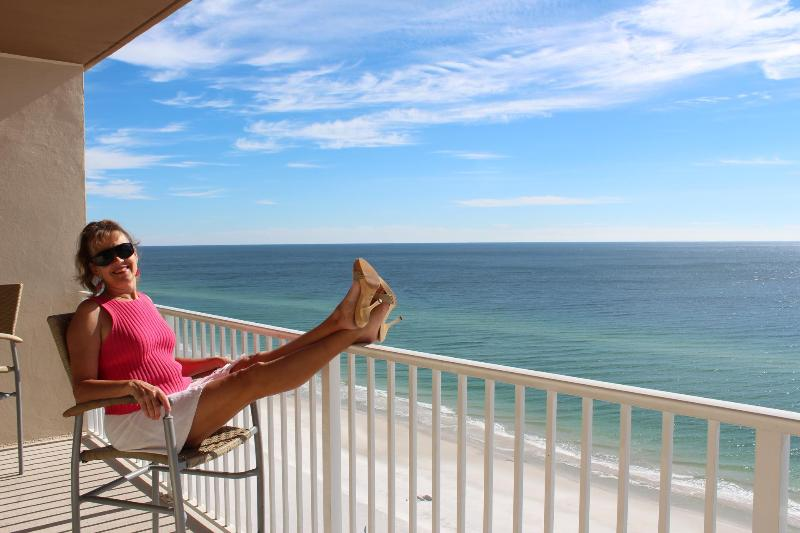 This could be you relaxing on the balcony! - 30% Off Nights and Weeks Thru 10-31-2014 - Gulf Shores - rentals