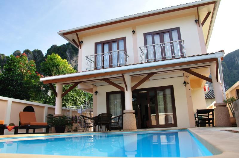 Krabi Ao Nang Villa - Sankar Private Pool House walk to the Beach - Krabi - rentals