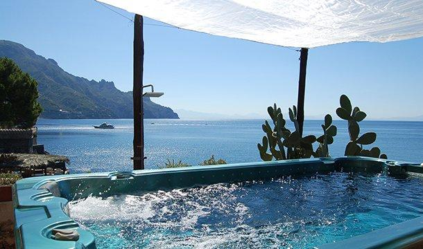 Large Villa Near Amalfi with a Private Pool and Spectacular Sea Views - Villa la Grotta - Image 1 - Amalfi - rentals