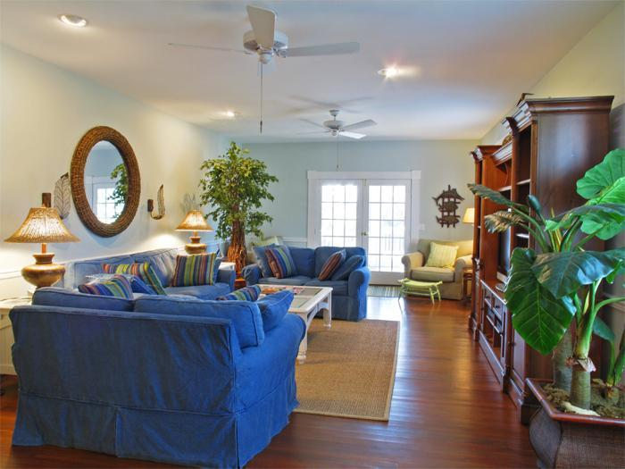 Formal Great Room with Sleeper Sofa - Spacious Bch Retreat w Hot Tub 25% off Aug Rentals - Isle of Palms - rentals