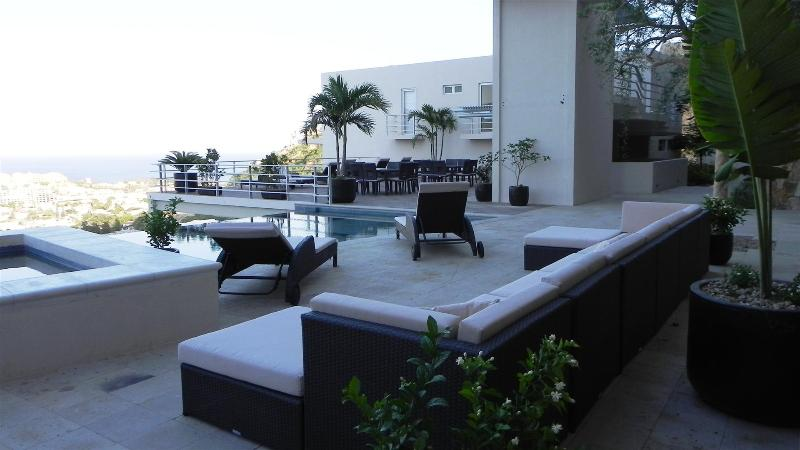 Incredible Views of Downtown Cabo San Lucas from our Balcony and from the Pool - Cabo's Best Address, Stunning Views, Brand New - Cabo San Lucas - rentals