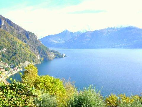 The view from the villas garden - VILLA BEA PANORAMICA (Loveno) (villa) - Menaggio - rentals