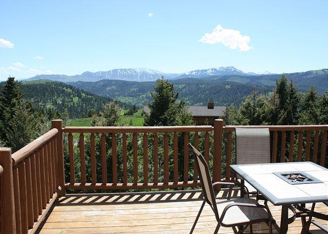 Amazing views from the home and deck - Look Down - Bozeman - rentals