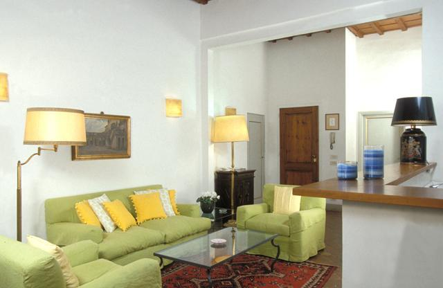 Living Room in the David Suite at the Palazzo Antellesi - Palazzo Antellesi   High-End Rental   DAVID - Florence - rentals