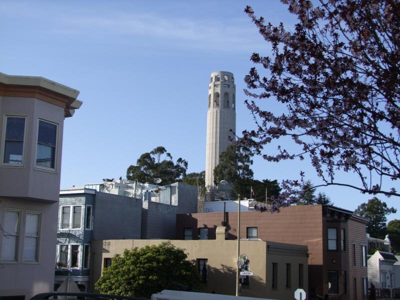 Coit tower is just around the corner - Best SF Location!  8th night free - San Francisco - rentals