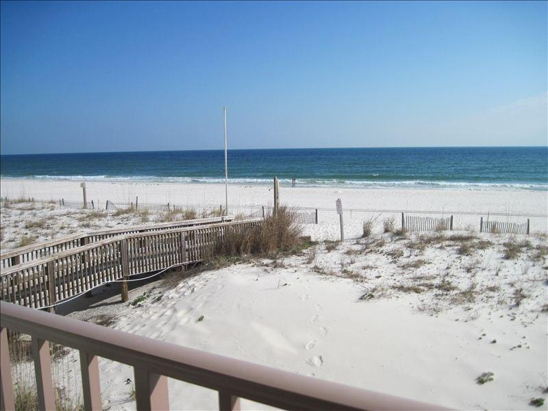 View from balcony, don't you want to be here? - Island Shores - Sleeps 6 - Gulf Shores - rentals