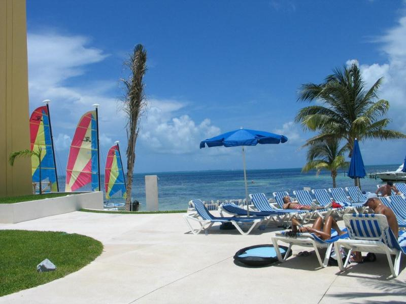 Oceanview from the Pool - Cancun Temptation Resort Answers All Your Desires - Cancun - rentals