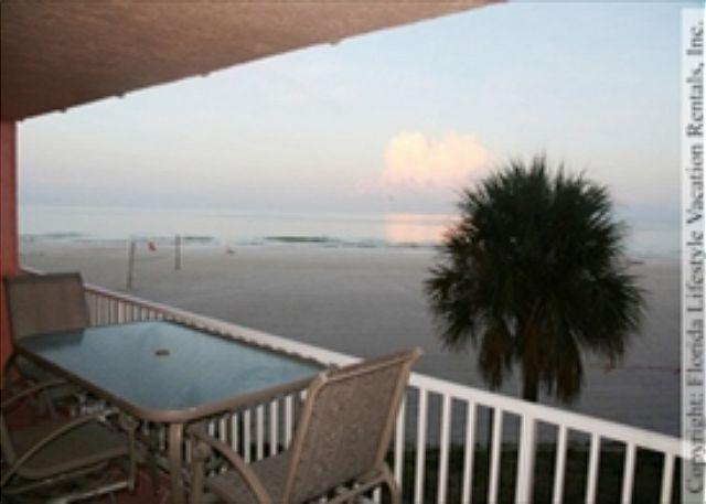 View WSW - Beach Cottage Condominium 1110 - Indian Shores - rentals
