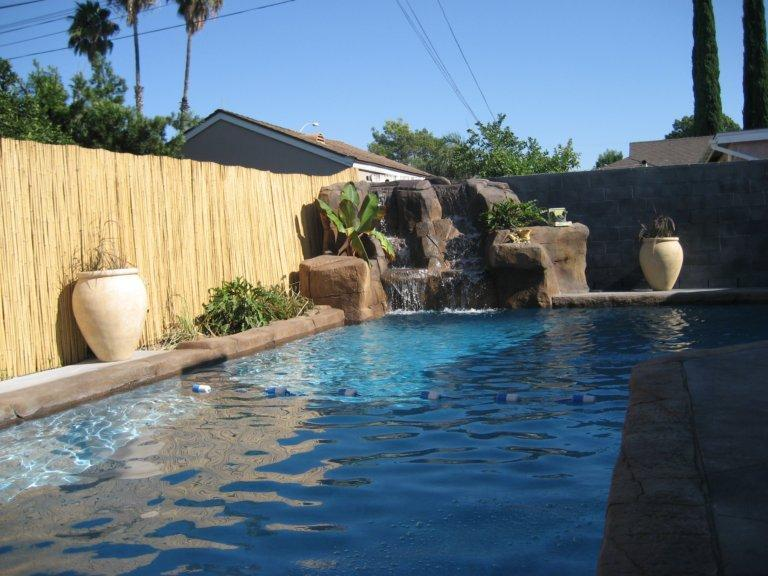 big pool you can see the fireworks from here  - Blocks from Disney w Private pool & Waterfalls! - Anaheim - rentals