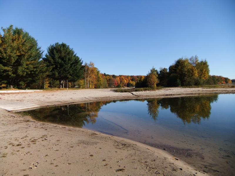 sandy beach along Anvil Lake & vacation homes - Amazing 4br 2bth in forest & on lake fall getaway - Eagle River - rentals