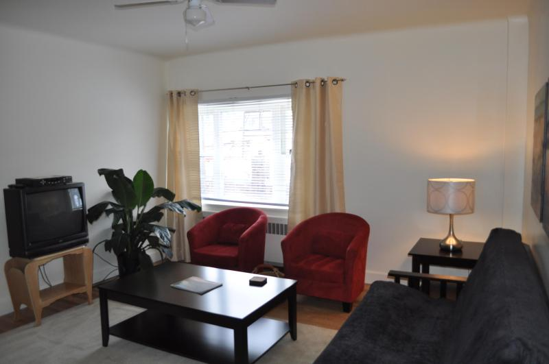 Relax and watch cable TV, or surf the web with free wireless internet connection. - The Baker Suite Apartment #1 - Nelson - rentals