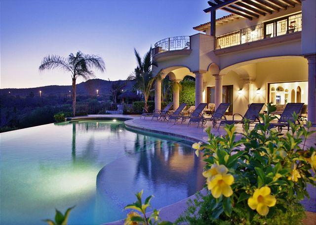 This is a stunning ocean view villa - Casa Alegria, A stunning two story Spanish/Mexican Villa - Cabo San Lucas - rentals