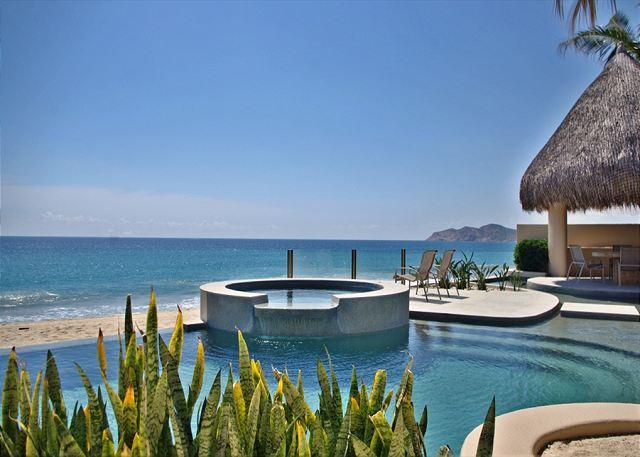 Beautiful views of Chileno point and the Sea of cortes - Casa Mateo, a sexy 5 bdrm villa with staff & services - San Jose Del Cabo - rentals