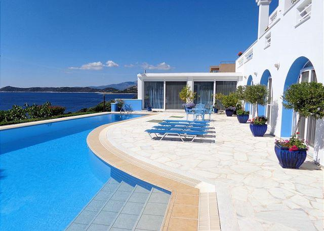 Pool Area - HAVE A VACATION OF A LIFETIME--Come to Greece, stay with us on the Aegean Sea - Schinias,marathon - rentals