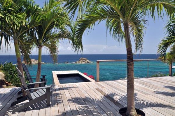 Contemporary, quiet villa near lively activities of the harbor WV GUS - Image 1 - Gustavia - rentals