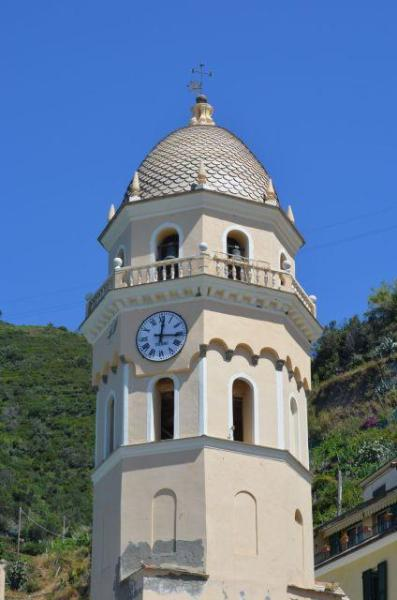 View on Santa Margherita Church - 'Nta Ciasa and Er Mae in Vernazza Cinque Terre - Vernazza - rentals