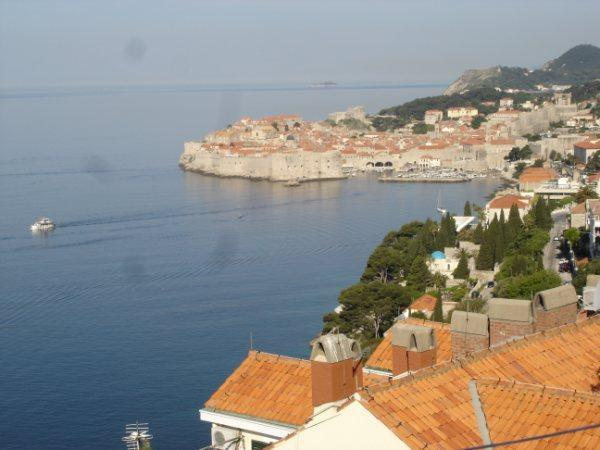 Terrace view 1 - Belvedere Apartment-Studio-Lovely Views & Location - Dubrovnik - rentals