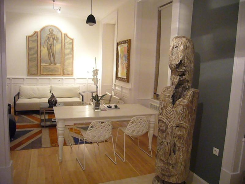Living room by night - Diva4 -Beautiful apartment in the center of Lisbon - Lisbon - rentals