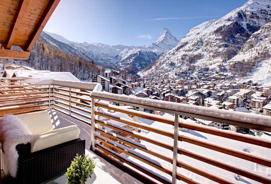 View from apartment - Haus Zenith - Zermatt - Zermatt - rentals