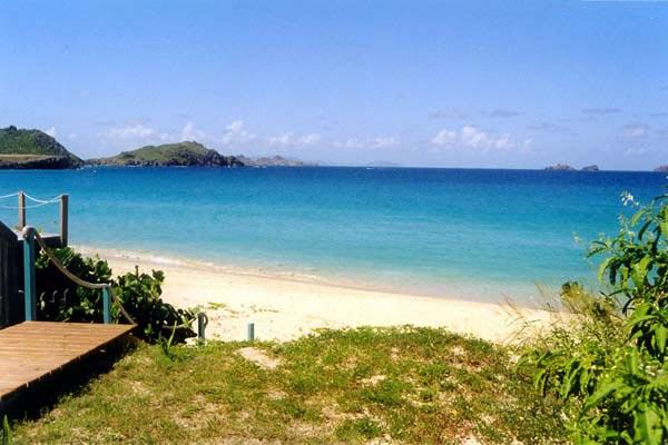 Cozy, open-plan villa with direct pathway to Flamands Beach	 WV ALB - Image 1 - Saint Barthelemy - rentals