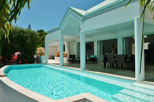 Perfect island villa with a magnificent view over bay of Marigot WV GEN - Image 1 - Marigot - rentals