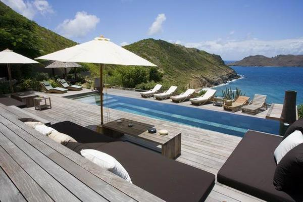 Luxury villa on the hillside with breathtaking water views WV KAY - Image 1 - Anse Des Cayes - rentals