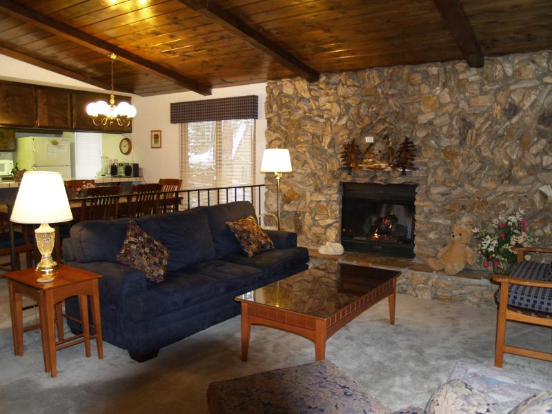Living Room Tahoma Lodge - Pvt Spa,WIFI,Near Heavenly/ Casinos $938 wk total! - Stateline - rentals