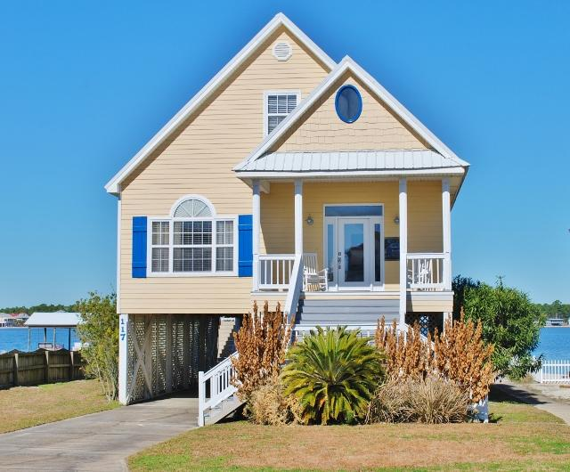 Welcome to Southern Breeze, 5 BD Gulf Shores Vacation Rental Home on Little Lagoon - Southern Breeze 5 BD+Pier, Best of Beach & Lagoon - Gulf Shores - rentals