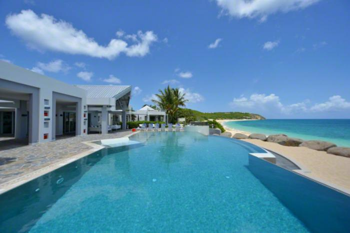 Luxury 8 bedroom Terres Basses (French side) villa. A self-contained paradise with every amenity! - Image 1 - Saint Martin-Sint Maarten - rentals