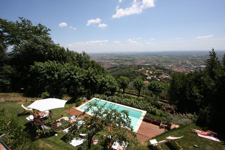 Luxury villa, panoramic Pool, A/C, walking village - Image 1 - Montecatini Terme - rentals